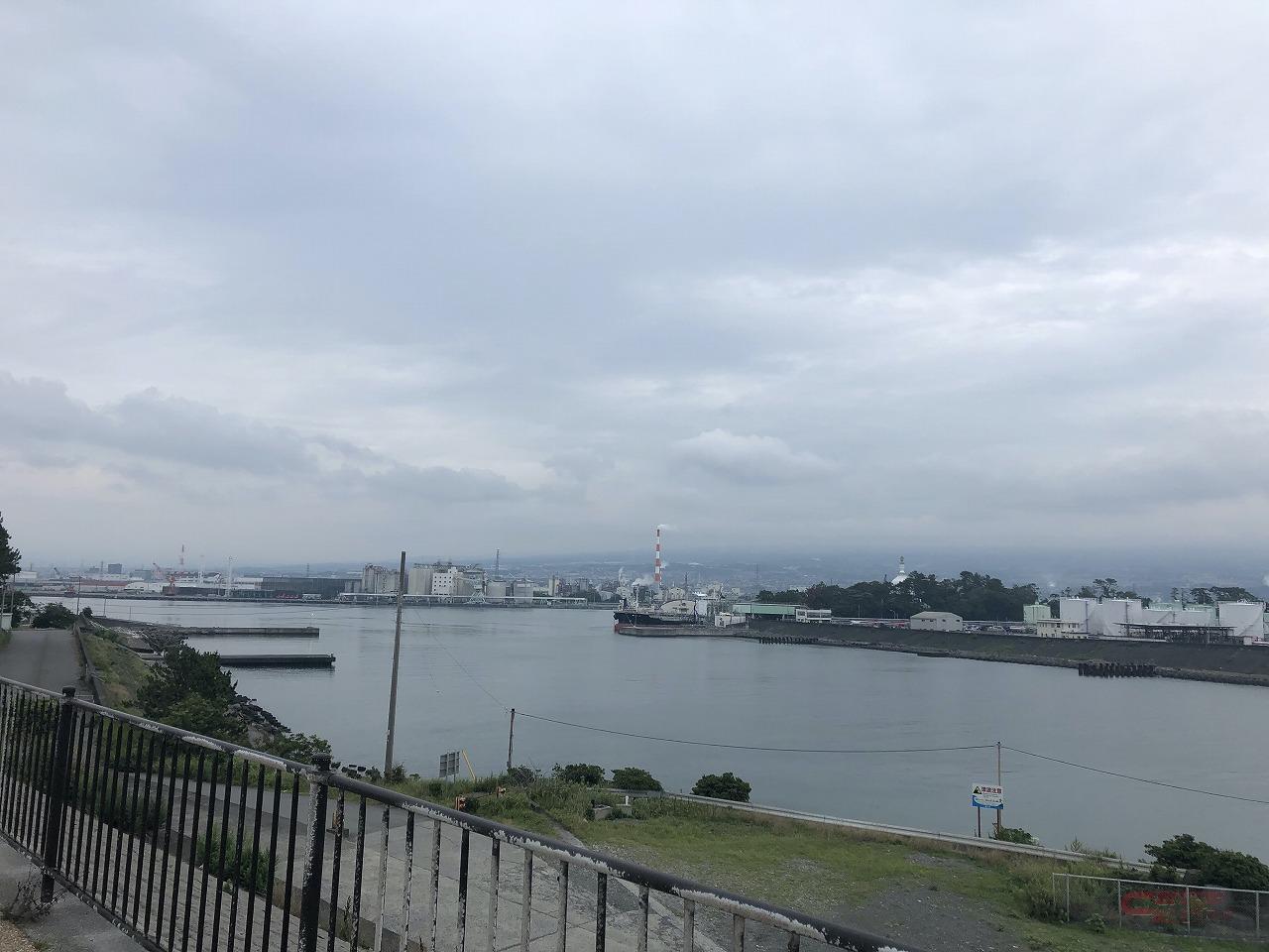ふじのくに田子の浦みなと公園からの眺望