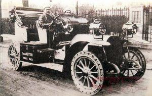 レース参戦車に搭載したのはルイヴィトンの道具箱?