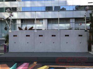 VW、「虎の門ヴィレッジ」にグラフィティアートを描けるキャンパス「フリーウォール」を設置