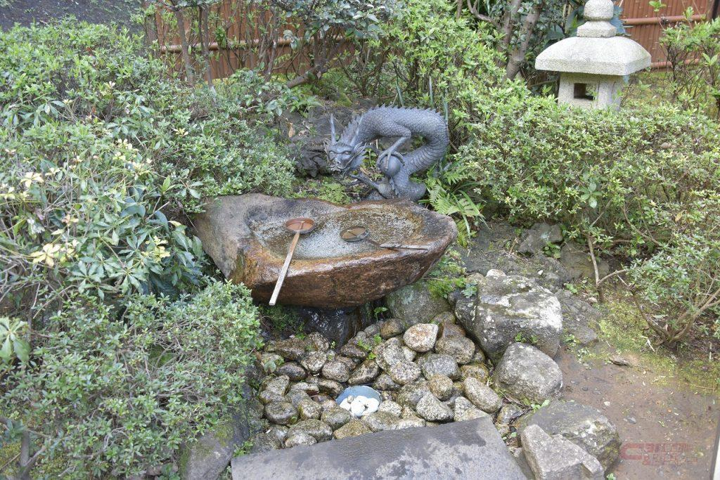 中津宮の水琴窟