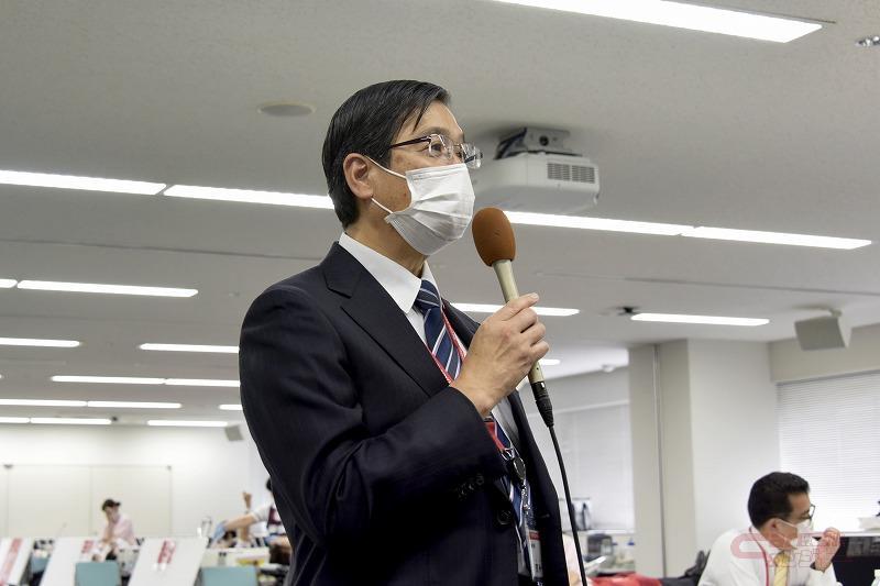 トヨタモビリティ東京の芳賀役員