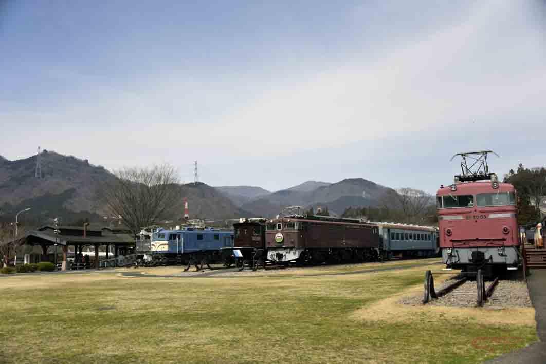 旧国鉄時代の電気機関車