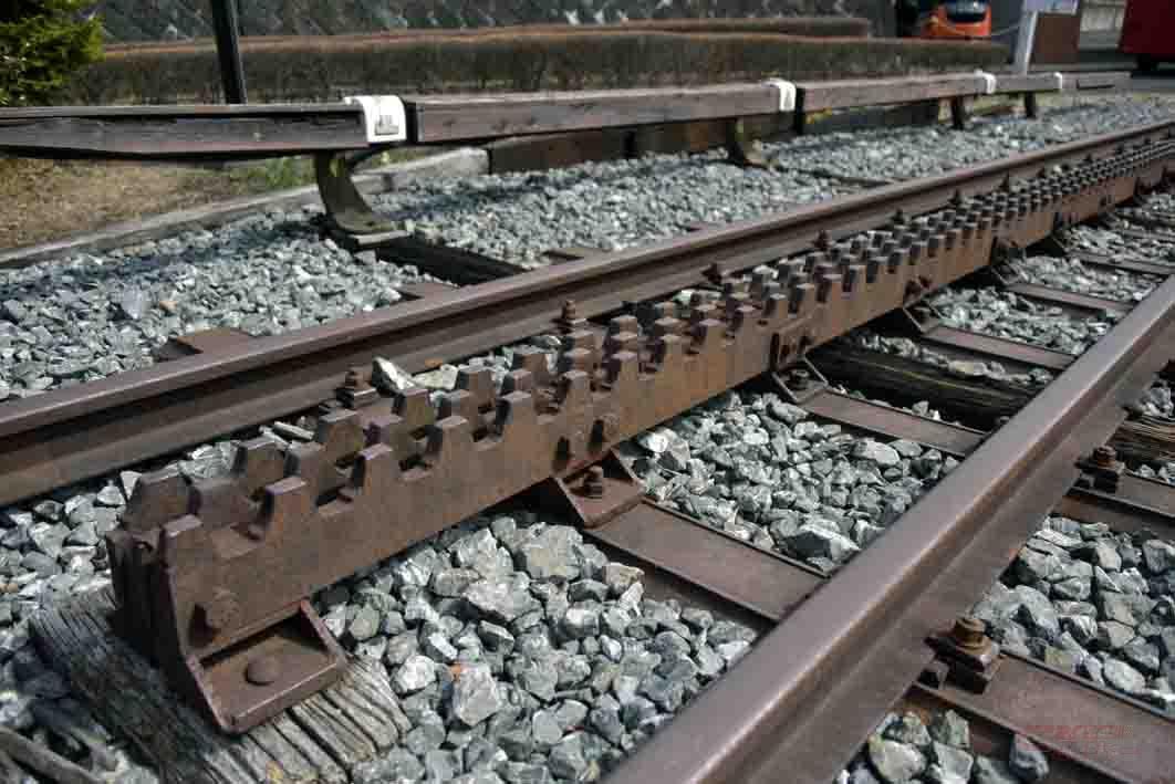 アプト式線路