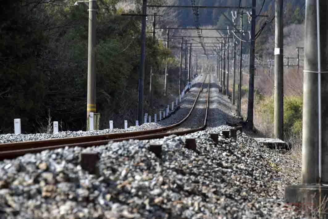 信越本線の線路