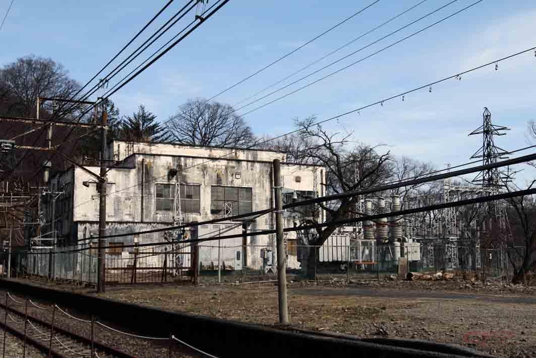 旧熊ノ平駅の変電施設