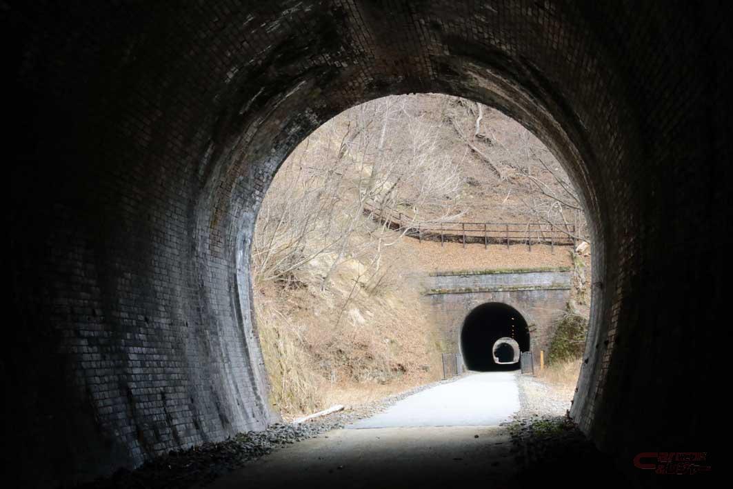 旧熊ノ平駅近くのトンネル