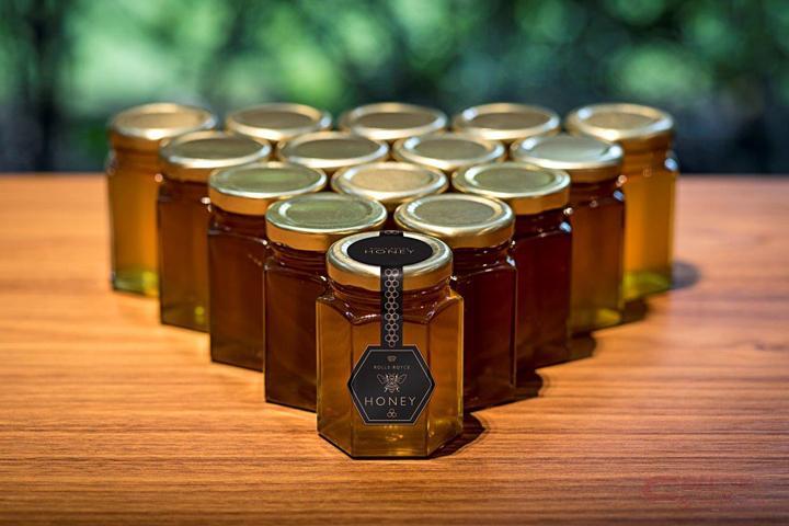 グッドウドで採蜜したハチミツ