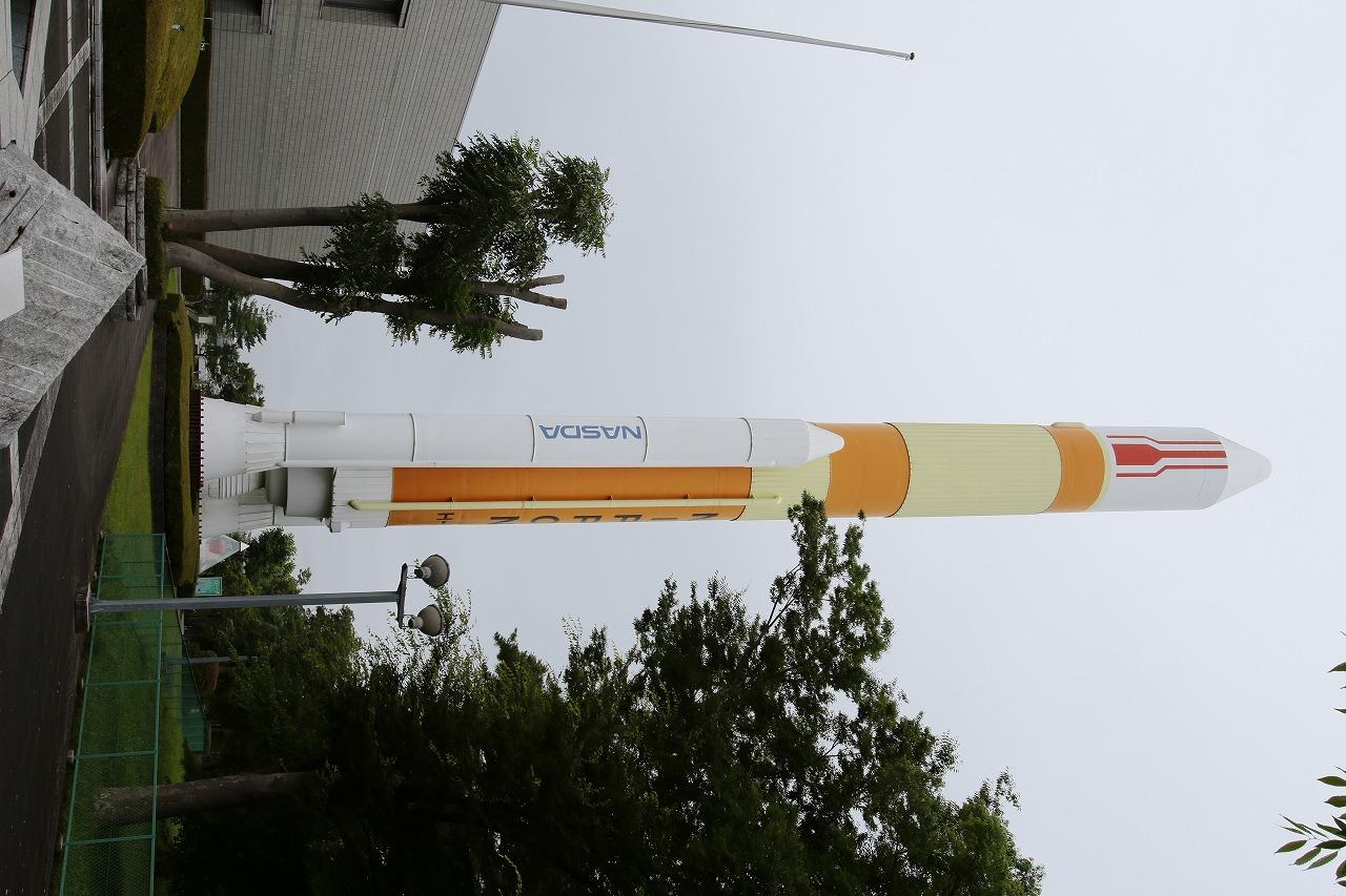 Ⅱロケットの実物大模型
