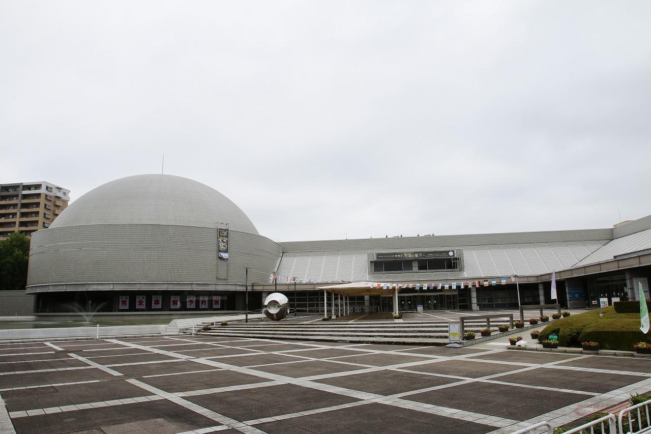 つくばエキスポセンターは万博開催時の第2会場を活用してできた