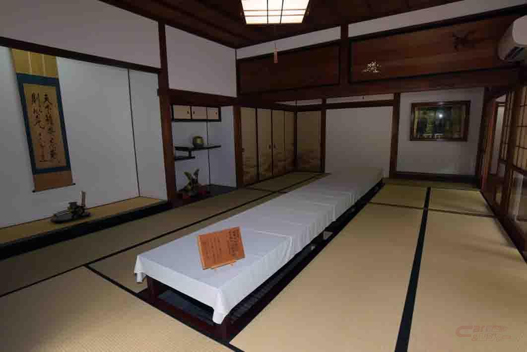 会議所として使用される和室