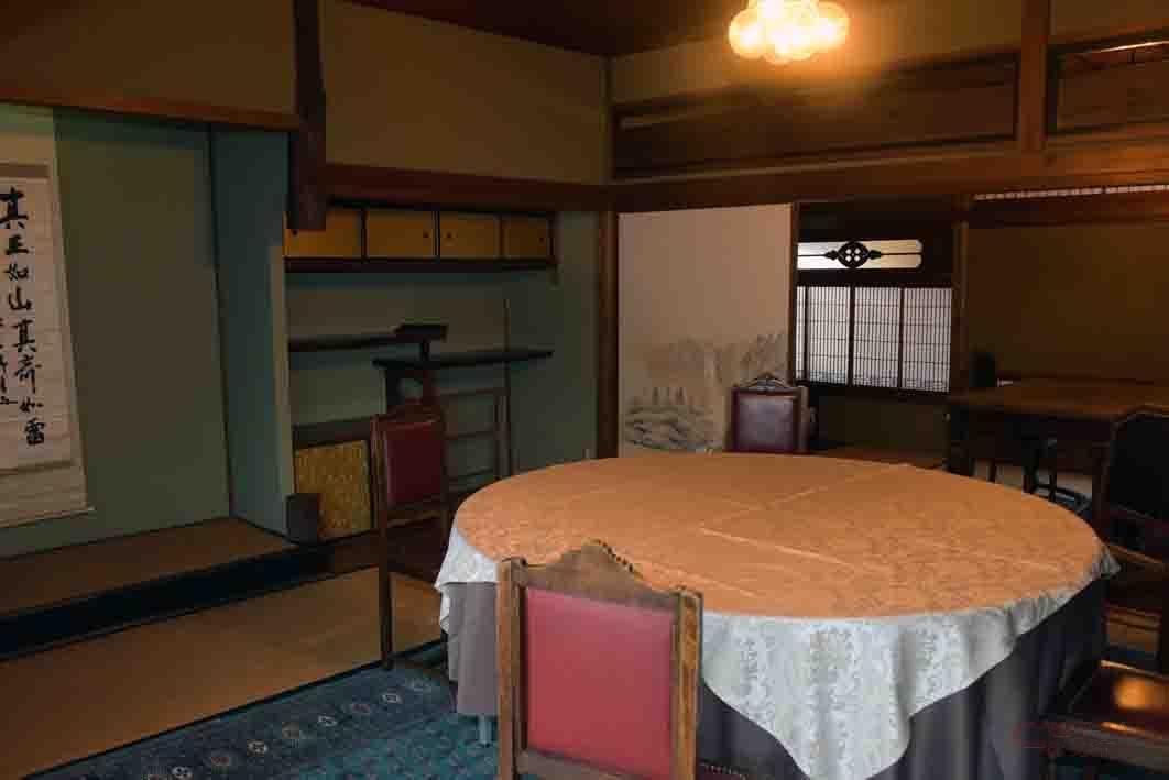 2階にある個室