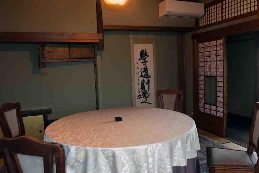 東郷平八郎が逗留した部屋