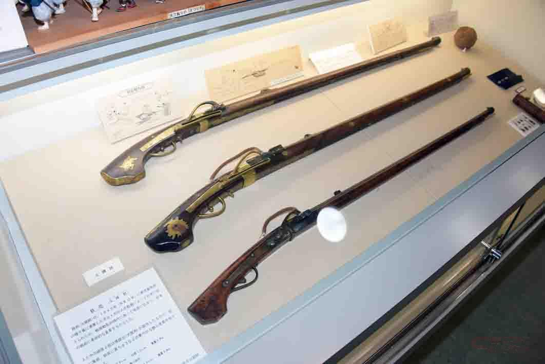 当時の火縄銃