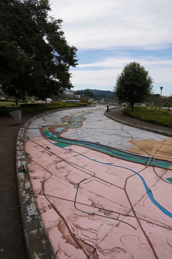 日本一の荒川大模型は大人が楽しめるジオラマだ