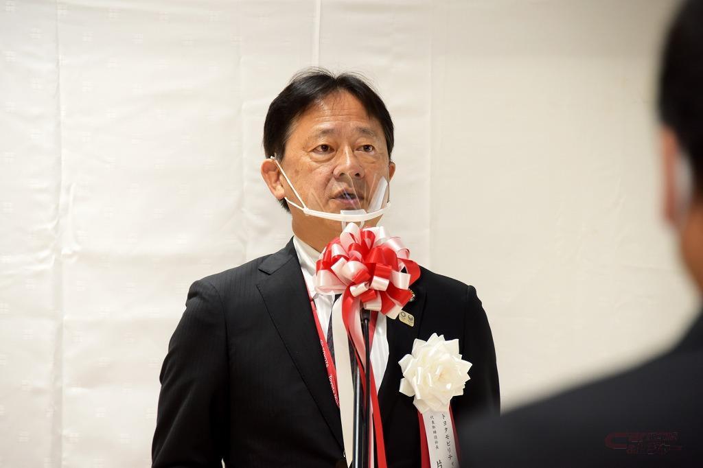 TM東京・片山社長