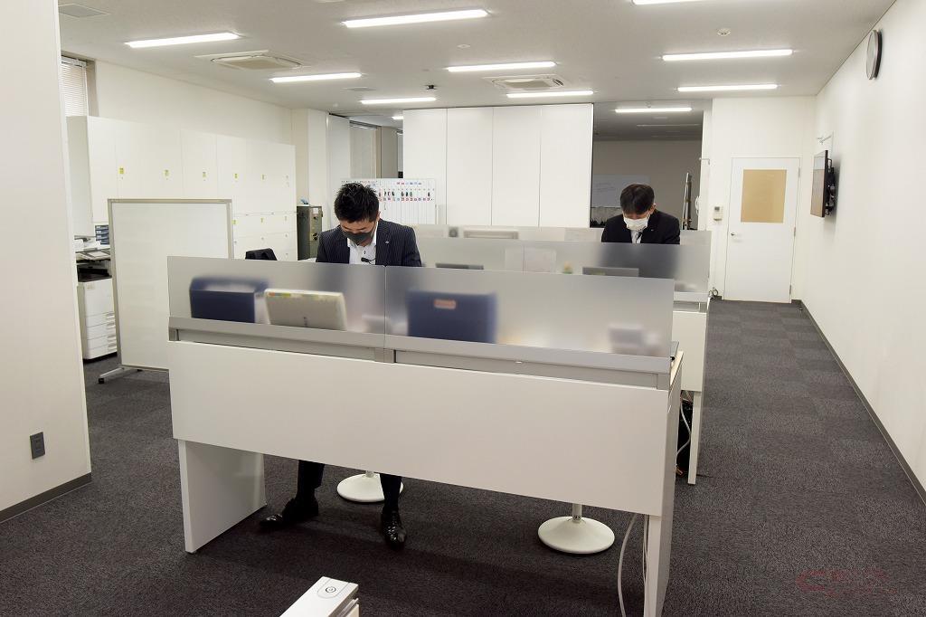 TM東京・練馬北町店のスタッフルーム