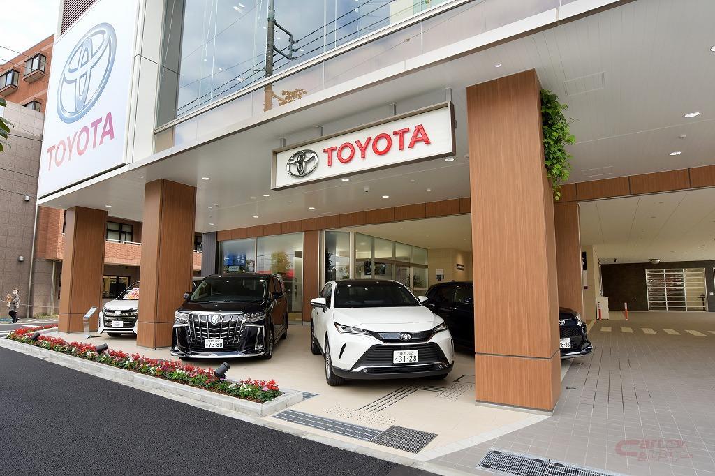 TM東京・練馬北町店の正面車両展示スペース