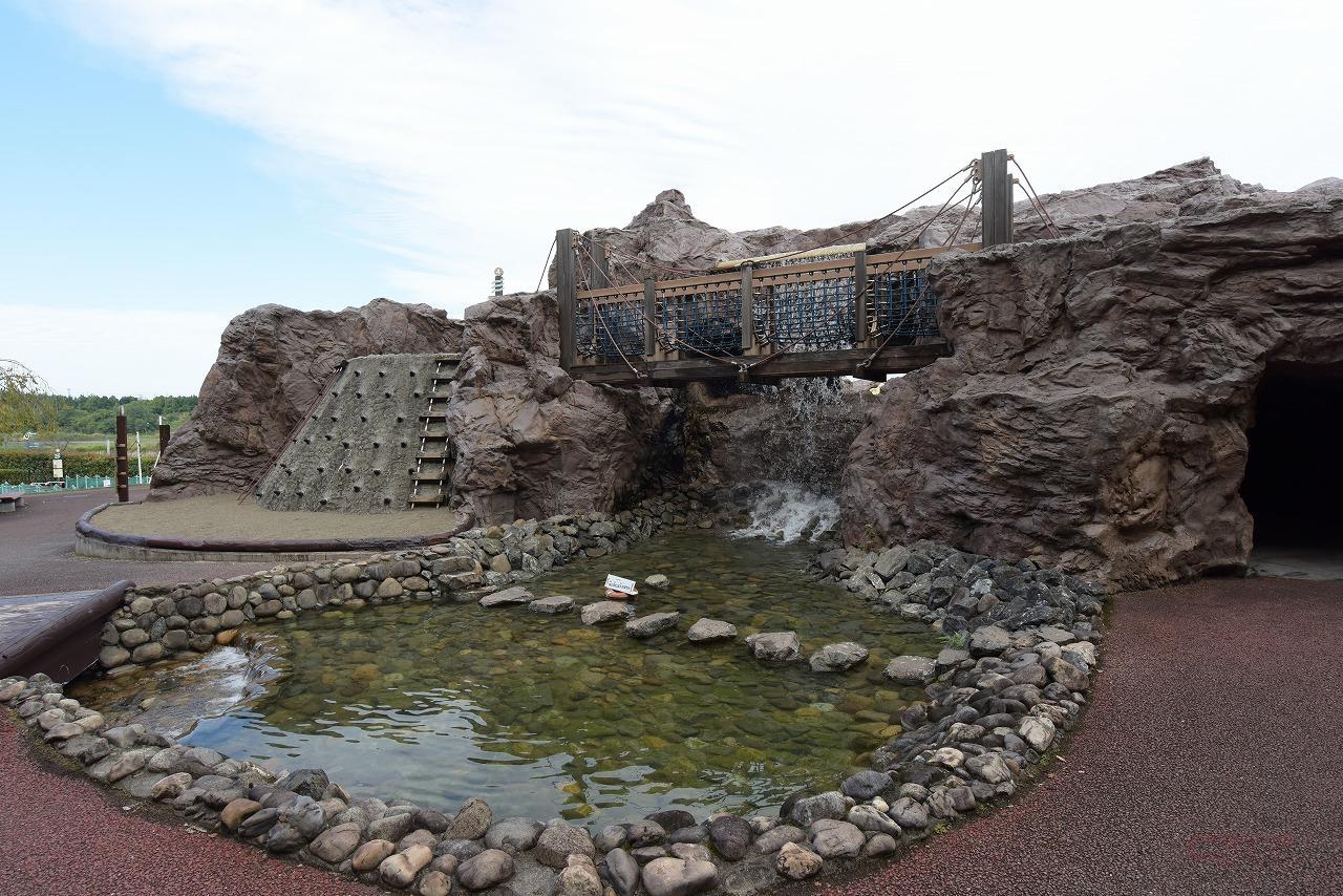 治水や利水の学習ができるウォーターアスレチック施設「荒川わくわくランド」