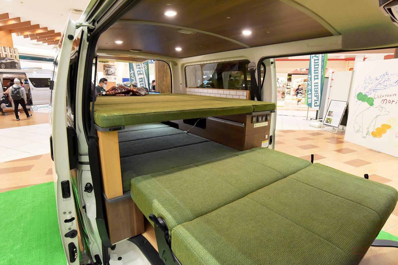 グリーンバディ・Aタイプの2段ベッド展開