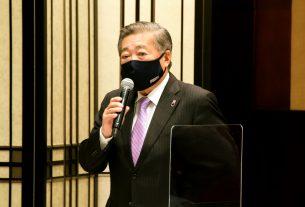 東自販・自販連東京都支部の新会長・支部長に就任した酒井氏