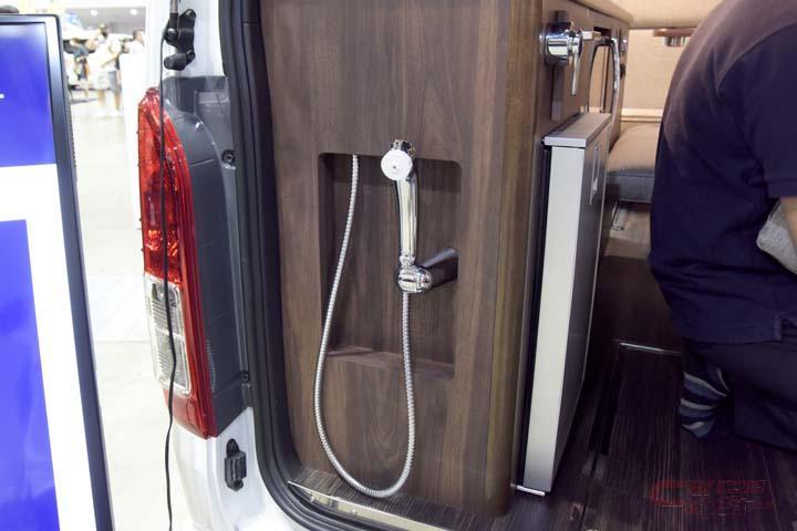 オーロラEXセブンスターに採用されたシャワー設備