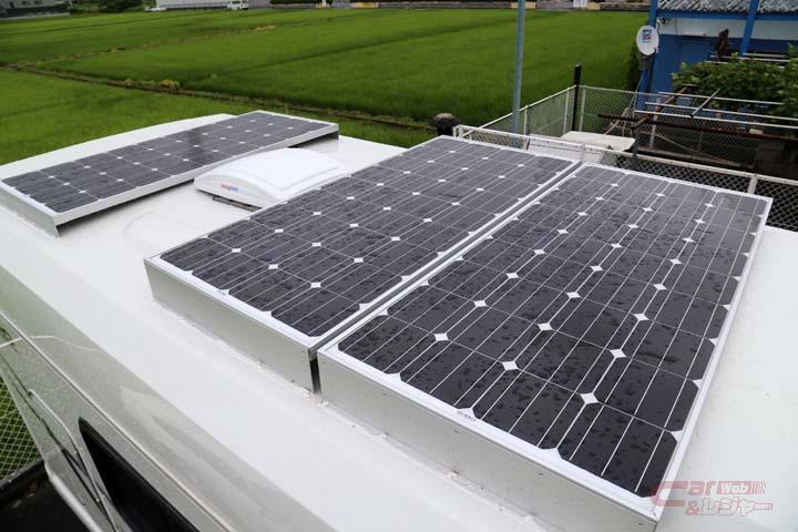 大容量のソーラーパネル充電システム