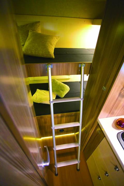 ジル520のリヤ2段ベッド